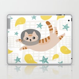 Simba the cat Laptop & iPad Skin