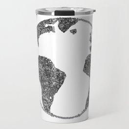 Global Flowers Travel Mug