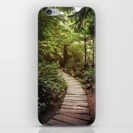 trail to Cape Flattery iPhone Skin