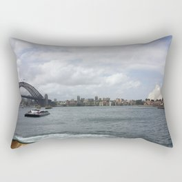 Harbour Bridge and the Opera House Rectangular Pillow