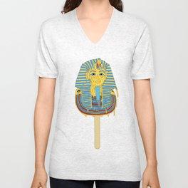 Tutankhamun's ice cream  Unisex V-Neck