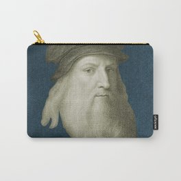 Leonardo da Vinci, c. 1600 Carry-All Pouch