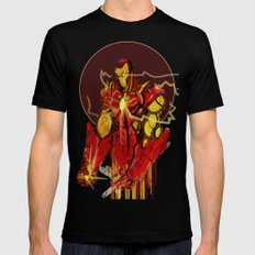 Starks Black SMALL Mens Fitted Tee