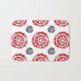 Sun mandala pattern Bath Mat