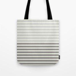 Minimal Half Stripes Tote Bag