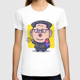 Kim Jong Un Loves His Pillow T-shirt