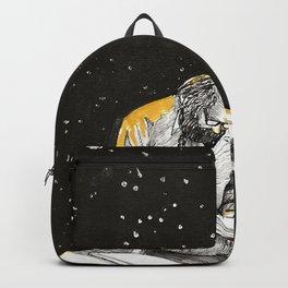 Allen Ginsberg in the sky Backpack