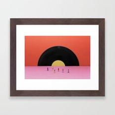 Soundset Framed Art Print