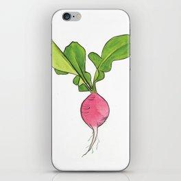 Radish iPhone Skin
