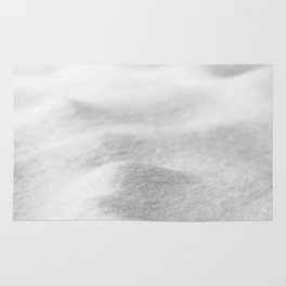 Snow Close up // Winter Landscape Powder Snowing Photography Ski Snowboarder Snowy Vibes Rug