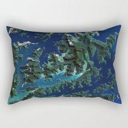 Cook Strait - New Zealand Rectangular Pillow