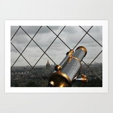 Paris Heights Art Print