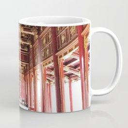 Red Asian Palace Coffee Mug