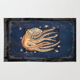 SPACEpolpo -   space octopus Rug