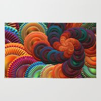 coasters Area & Throw Rugs featuring The Coasters by ArtPrints