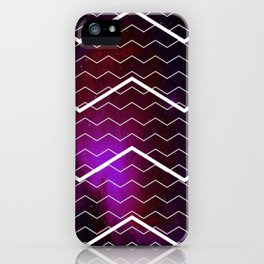 Chevron Galaxy iPhone Case