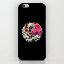 Rad Tiger Wave iPhone Skin