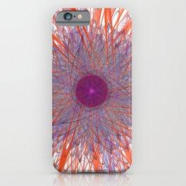 Psychedelic Art Trifida Nebulae iPhone Case