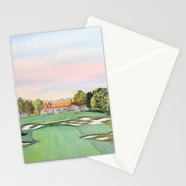 Bethpage State Park Golf Course Stationery Cards