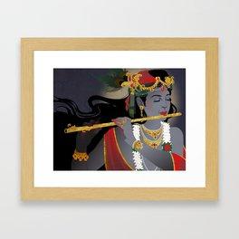 Krishna Framed Art Print