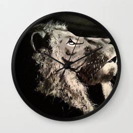 The last Lion Wall Clock