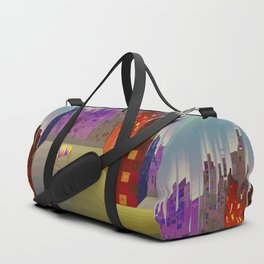 Landing in The Main Square Duffle Bag