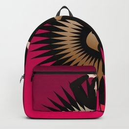 Black Star Girl Backpack