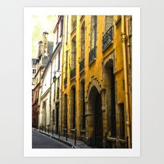 Paris Lane Art Print