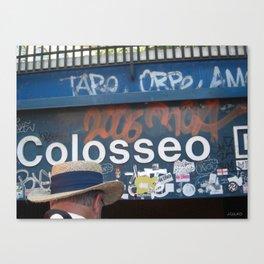 Coloseo Canvas Print