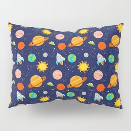 Planet Party Pillow Sham
