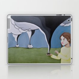 Protect Me From The Storm Laptop & iPad Skin