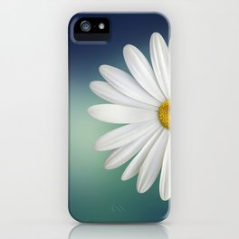 Delicate White Daisy iPhone Case