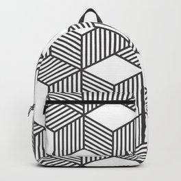 Geometric Cube 01 Backpack