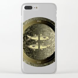 Planetary Mood 5b / Vertical Divergence 10-02-17 Clear iPhone Case