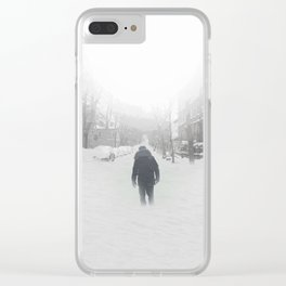 Long Road Clear iPhone Case