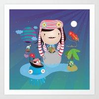 imagine Art Prints featuring Imagine  by Maria Jose Da Luz