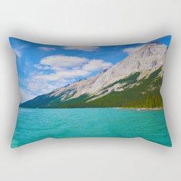 Maligne Lake in Jasper National Park, Canada Rectangular Pillow