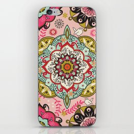 Mandala color pattern iPhone Skin