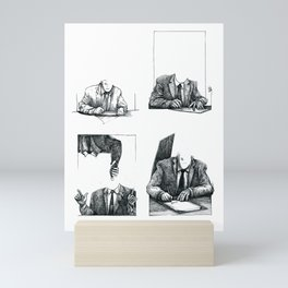 Suits Mini Art Print