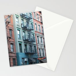 St. Marks Place East Village Apartments Stationery Cards