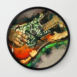 Joe Perry's Electric Guitar Wall Clock