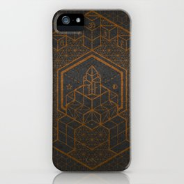 The Inner Truth Copper iPhone Case
