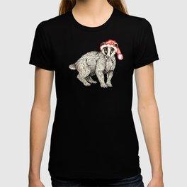 Christmas Honey Badger T-shirt
