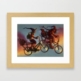 Back to School! Framed Art Print