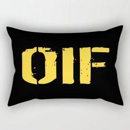 U.S. Military: OIF Rectangular Pillow
