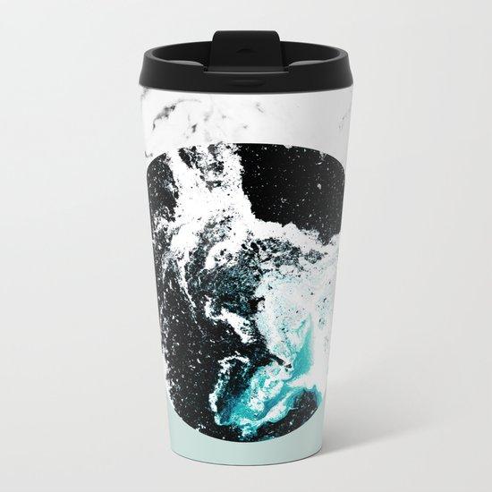 Geometric Textures 2 Metal Travel Mug