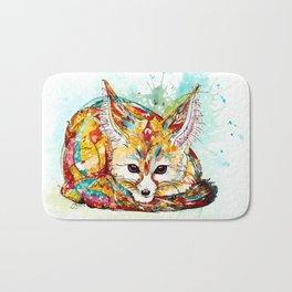 """""""You're So Foxy"""" - Fennec Fox Bath Mat"""