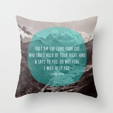 Isaiah 41:13 Throw Pillow