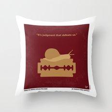 No006 My Apocalypse Now minimal movie poster Throw Pillow