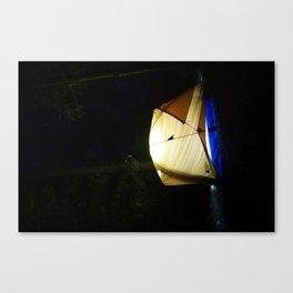 Tent Light Canvas Print